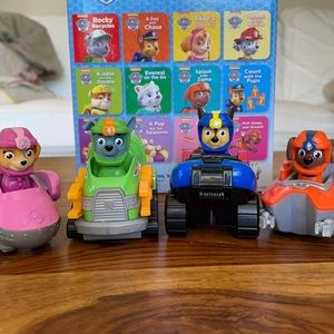 Paw Patrol Cars with Characters Set